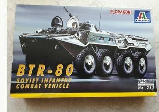 Btr 80 italeri/dragon rebox Folie stan idealny доставка товаров из Польши и Allegro на русском