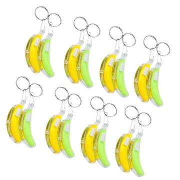 1 worek 16 sztuk LED Luminous w kształcie banana B