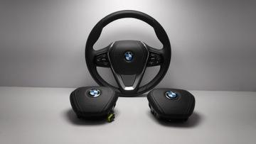 BMW G11 G12 G30 G31 PODUSZKA AIRBAG SKÓRA НОВОЕ