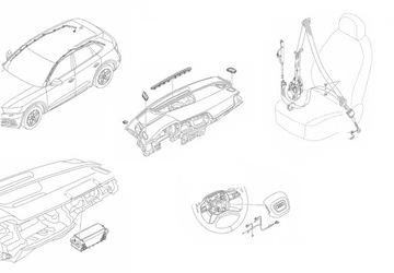 BMW GT F34 LIFT СТЕКЛО CZOLOWA