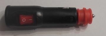 wtyk zapalniczki 12V 24V W22 wlacznik bezpiecznik