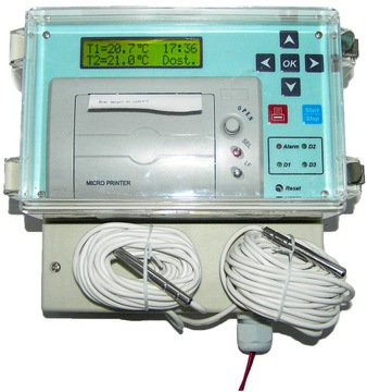 AGREGAT CHŁODNICZY Rejestrator Temperatury DR400
