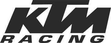 KTM RACING - НАКЛЕЙКА - 15 X 5,7 CM