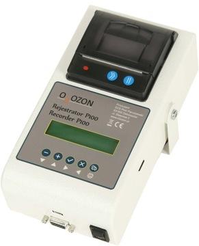 Termograf rejestrator temperatury P100 z drukarką