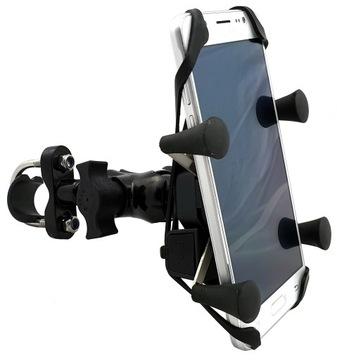 MOTOCYKLOWY ДЕРЖАТЕЛЬ RAM NA TELEFON KIEROWNIC X-GRIP