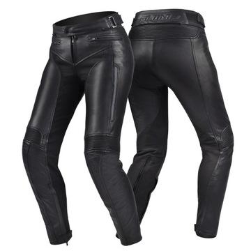 Spodnie motocyklowe SHIMA MONACO skórzane +GRATISY