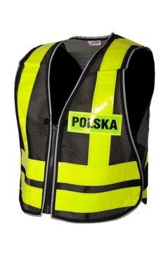 KAMIZELKA ODBLASKOWA POLSKA RYPARD ROZM. XL