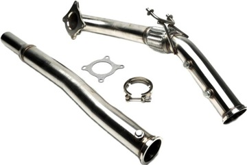 VW GOLF VI MK6 R 2.0TFSI Downpipe TA TECHNIX
