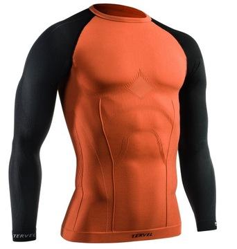 Męska bezszwowa koszulka termoaktywna TERVEL XL