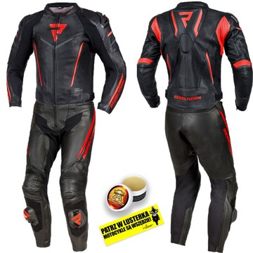 REBELHORN FIGHTER BLK/RED KOMBINEZON MOTOCYKLOWY