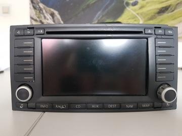 РАДИО VW TOUAREG LIFT 7L6035177E DVD CD NAVI