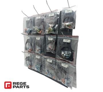 Tablica z zestawami montażowymi do DPF