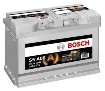 BOSCH AGM 70AH S5 760A START STOP