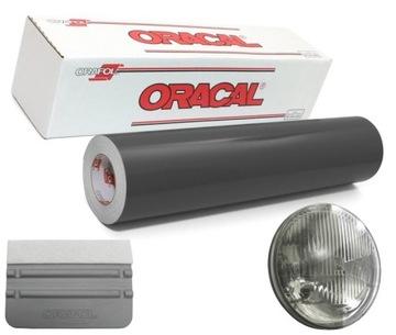 Folia do przyciemniania lamp Oracal 2mx33cm +rakla