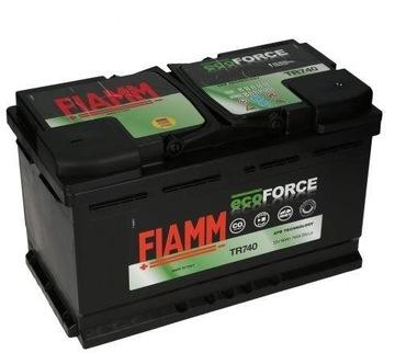 FIAMM ECOFORCE TR740 80AH 740A