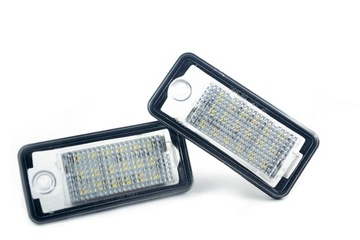 LED PODSWIETLENIE TABLICY AUDI A3 A4 A6 A8 Q7