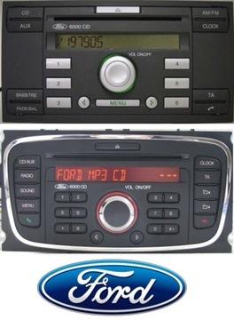 KOD DO RADIA FORD Focus Mondeo Fiesta Kuga Transit