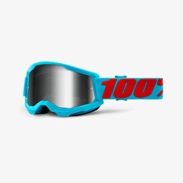 Gogle 100% Strata 2 Summit niebieskie lustrzane