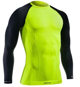 Męska bezszwowa koszulka termoaktywna TERVEL L