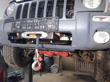 płyta pod wyciagarke bez osłony Jeep Cherokee Kj