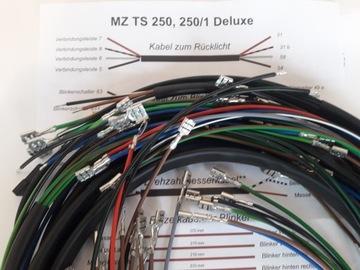 MZ TS 250 250/1 DELUXE INSTALACJA ЭЛЕКТРО