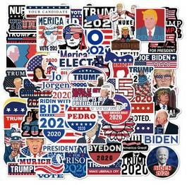 WLEPY Naklejki STICKER BOMB MIX wybory USA 50szt