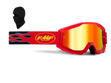 Gogle FMF Powercore CROSS NARTY 100% NO-FOG