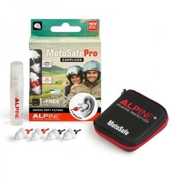 Alpine MotoSafe Pro + skarpety dla motocyklisty