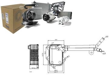 РАДИАТОР МАСЛА VW EOS 1.4 TSI (1F7. 1F8)