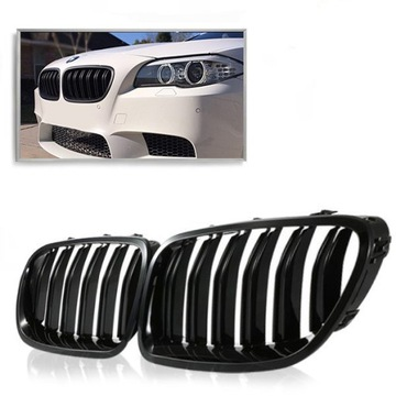РЕШЕТКА NERKI BMW 5 F10 F11 10- M5 LOOK BLACK POLYSK