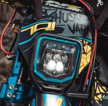 LED ФАРА DUAL.5 HUSQVARNA 701 SM ENDURO 16- BLUE