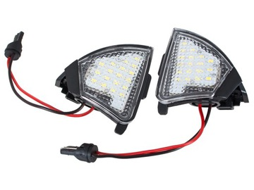ЛАМПОЧКИ LED ЗЕРКАЛ DO VW GOLF V VI PASSAT B5 B6