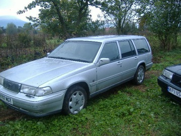 VOLVO 960/S90/V90 СТЕКЛО ДВЕРИ LEWYCH TYŁ 95-98