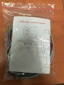 Instalacja JAWA 250 z amperomierzem