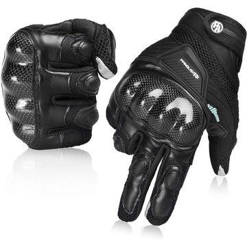 Rękawice motocyklowe rękawiczki dotykowe