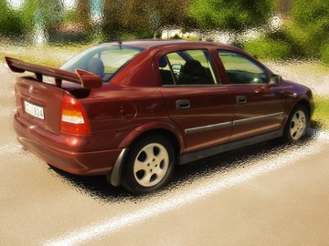 OPEL ASTRA G СПОЙЛЕР ЗАД TWIN EXTREME DJ-TUNING