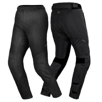 Spodnie motocyklowe letnie SHIMA JET BLACK GRATISY