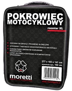 ЧЕХОЛ MOTOCYKLOWY MORETTI ROZ- XL MOTOR SKUTER