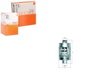 ФИЛЬТРТОПЛИВА CADILLAC SEVILLE II 4.5 V8 (K)