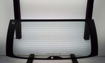VW CADDY III 04-15 СТЕКЛО ЗАДНЯЯ TYL ZIELONA ORG
