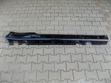 BMW E63 E64 CZARNA ЛИСТВА ПОРОГАПРАВАЯ 03-07