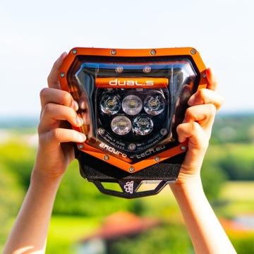 LED ФАРА DUAL.5 KTM 125-500 EXC/-F 2014-20 ORANGE