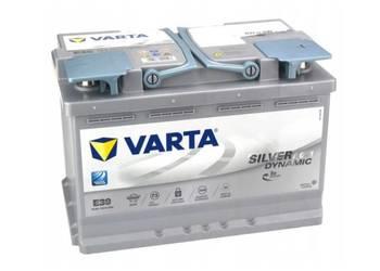 VARTA SILVER E39 AGM 70AH 760A START -STOP