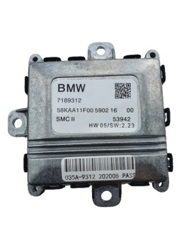 МОДУЛЬ SKRĘTU XENON BMW 3 5 7 LEAR SMC SMC II 2