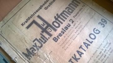 NSU- BMW-ZUNDAPP-DKW KATALOG ЗАПЧАСТИ - 1939R