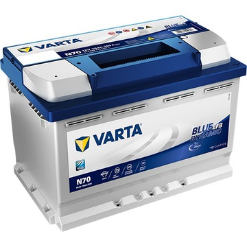 VARTA BLUE 70AH 760A N70 START-STOP EFB