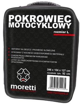 ЧЕХОЛ MOTOCYKLOWY MORETTI ROZ- L MOTOR SKUTER