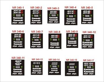 KAWASAKI NINJA ZX6R ZX9R ER6n Z750 ER6F naklejki