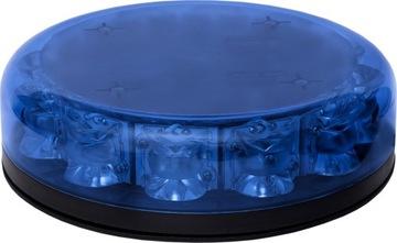 Sygnalizator LED BAQUDA 12 diod, niebieski, R65