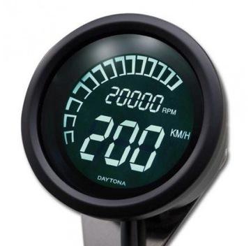 Licznik obrotomierz prędkość Custom Cafe Racer zeg